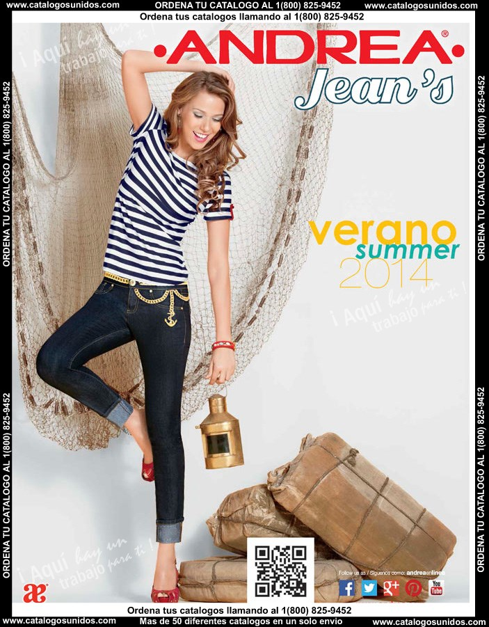 Catalogos Andrea Jeans, Push Up, Catalogo de Pantalones Levanta Cola