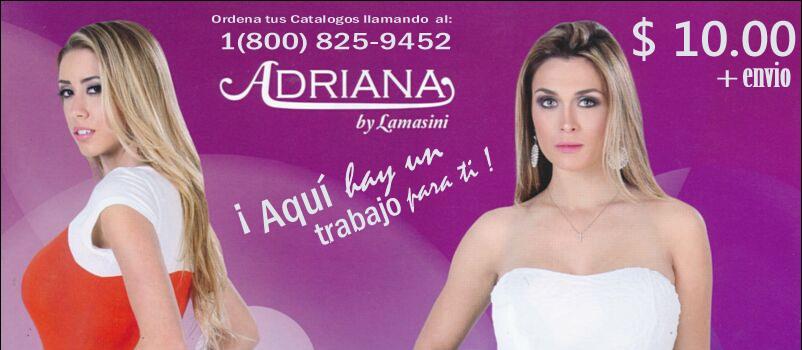 catalogo adriana by lamasini primavera verano 2014 banner