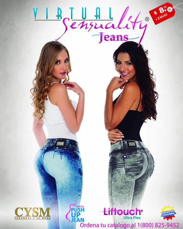 Catalogo Jeans Push Up Colombianos
