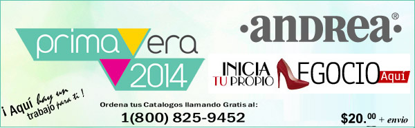 Catalogos Andrea Verano 2014 1