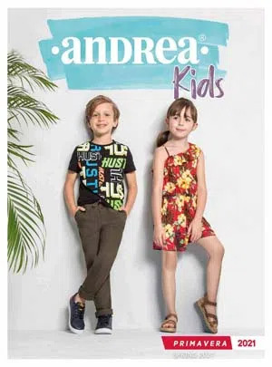 Catálogo Andrea Ferrato Kids Primavera 2019 Vestir Infantil