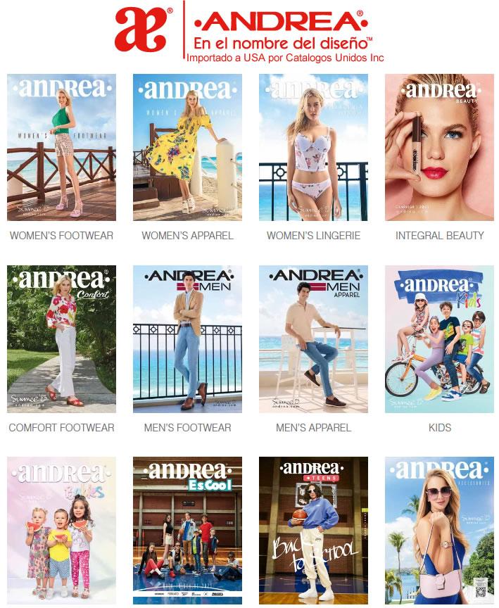 Catálogos ANDREA 2018 – 2019  – NUEVA Colección Otoño Invierno 2018 / 2019