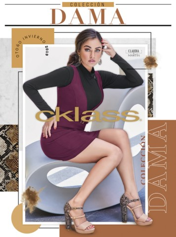 Catálogo Cklass Colección Dama Otoño Invierno 2018 - 2019 1