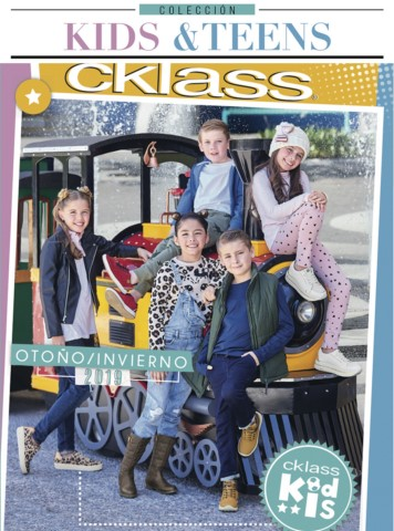 Catálogo Cklass Kids & Teens Otoño Invierno 2018 – 2019