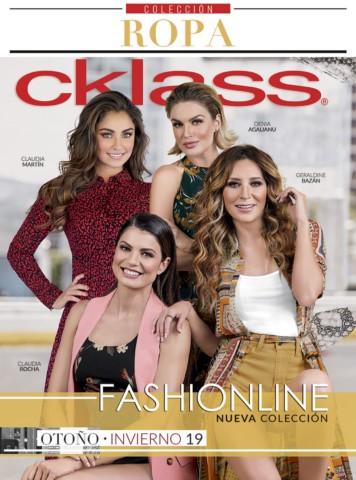 Catálogo Cklass Fashionline Otoño Invierno 2018 - 2019 1