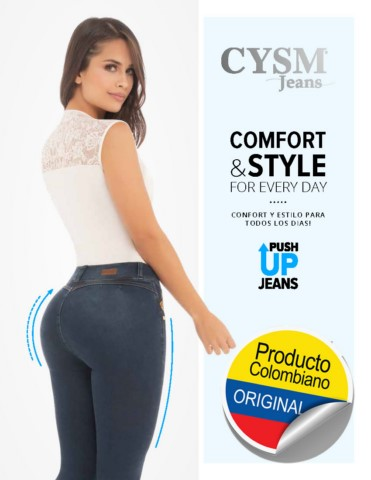 Jeans Push Up Levanta Cola originales Colombianos Por Catalogo en estados unidos