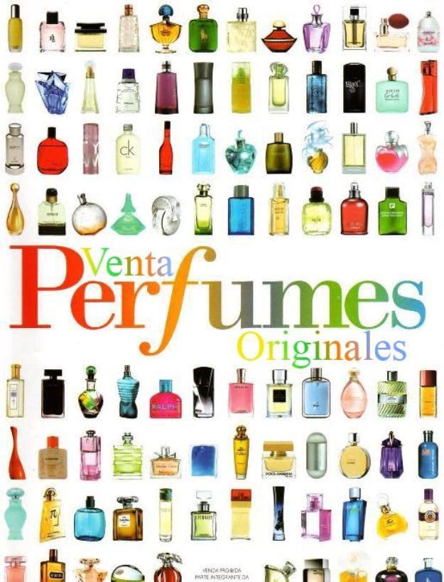 Catalogo Para Vender Pefumes Originales