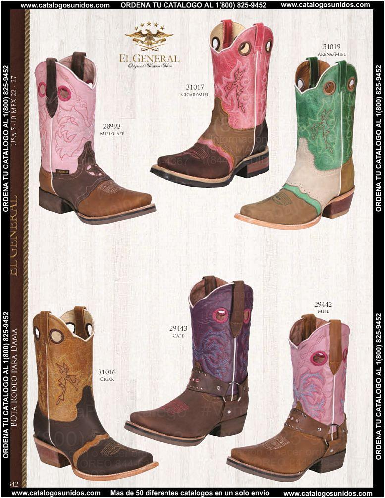Catalogo de botas vaqueras el general 342 of 348 for Catalogo el general