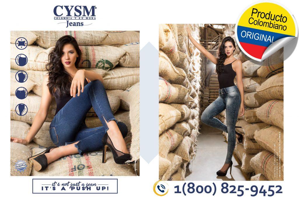 Jeans Push Up Cysm Oficial Venta Por Catalogo