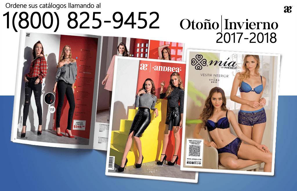 Catalogos Andrea 2017 - 2018