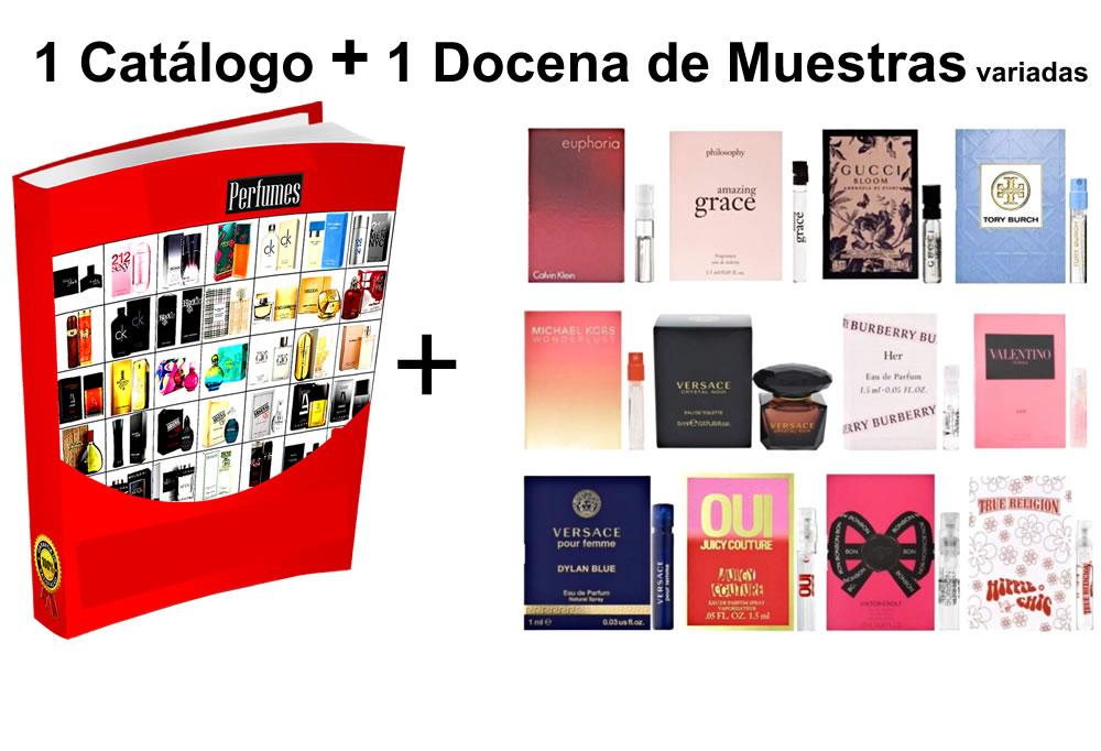Catalogo de Perfumes Y Muestras